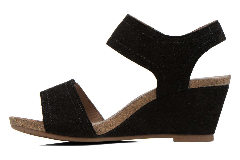 Sandales et nu-pieds Mephisto JACKIE Noir vue face