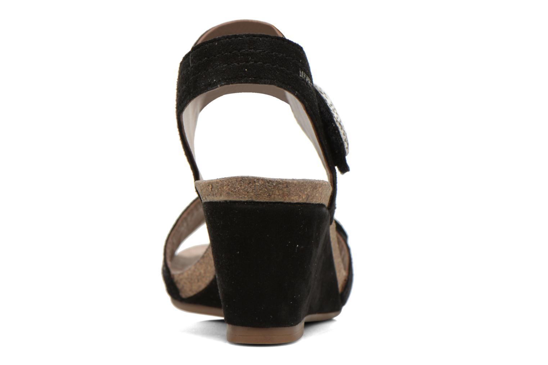 Sandales et nu-pieds Mephisto JACKIE Noir vue droite