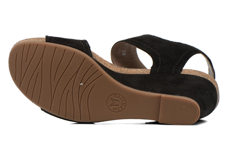 Sandales et nu-pieds Mephisto JACKIE Noir vue haut