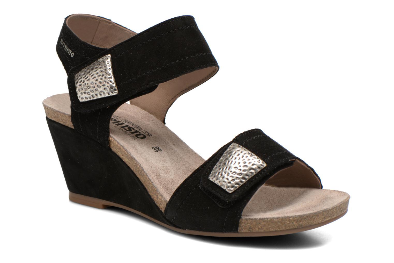 Sandales et nu-pieds Mephisto JACKIE Noir vue détail/paire