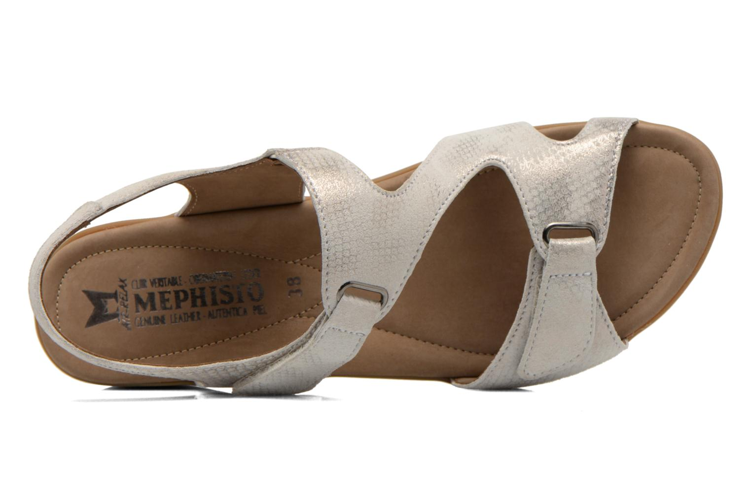 Sandals Mephisto PARIS Beige view from the left