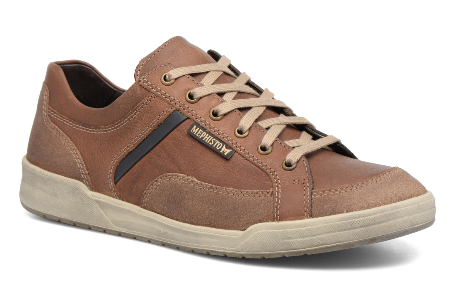 Trainers Mephisto Rodrigo Brown detailed view/ Pair view