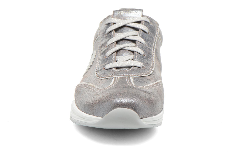 Baskets Mephisto Yael Argent vue portées chaussures