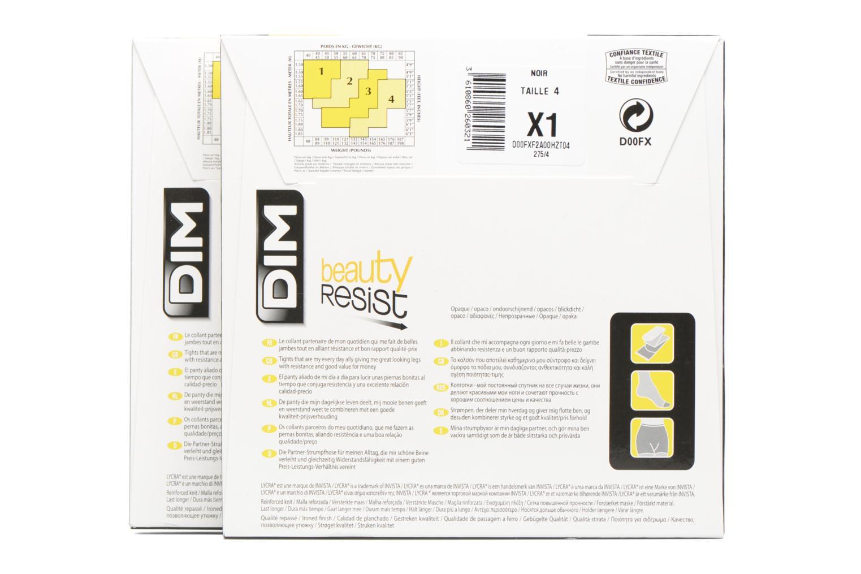Collant BEAUTY RESIST OPAQUE Pack de 2 0HZ NOIR