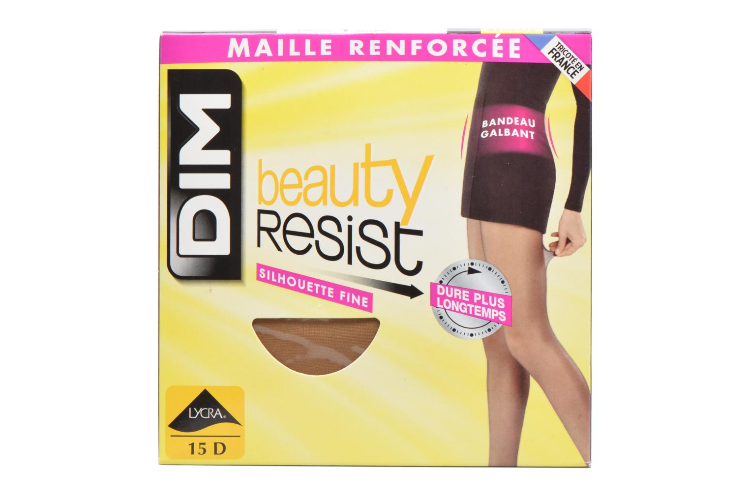 Socks & tights Dim Tights BEAUTY RESIST SILHOUETTE FINE Pack of 2 Colorless detailed view/ Pair view