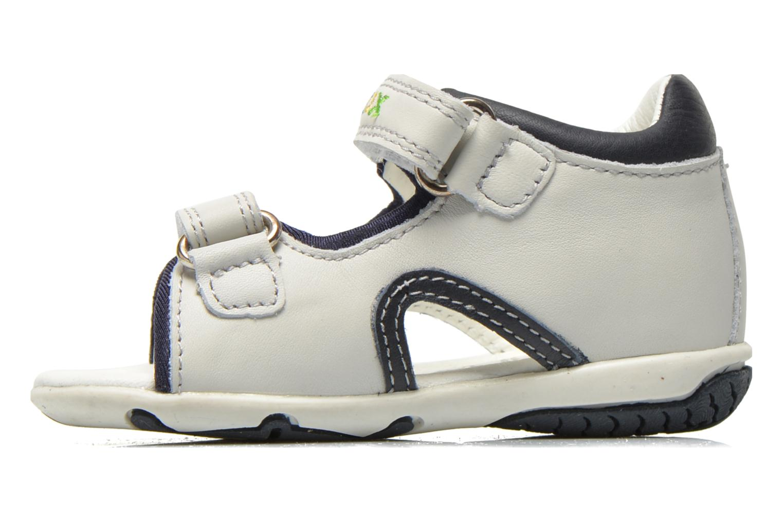 Sandales et nu-pieds Geox B Sandal Elba Boy B52L8B Blanc vue face