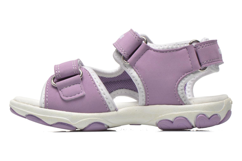 Sandali e scarpe aperte Geox B Sandal Cuore B5290A Viola immagine frontale