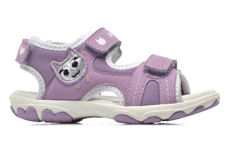Sandali e scarpe aperte Geox B Sandal Cuore B5290A Viola immagine posteriore