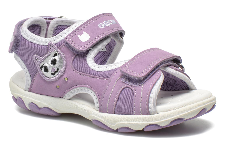 Sandali e scarpe aperte Geox B Sandal Cuore B5290A Viola vedi dettaglio/paio