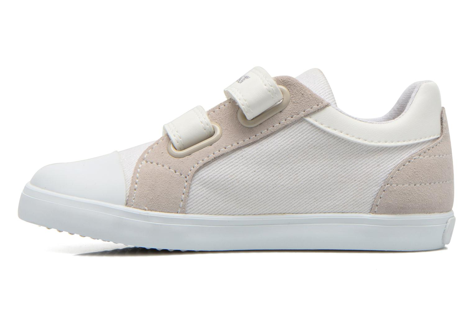 Trainers Geox B Kiwi Girl B52D5E White front view