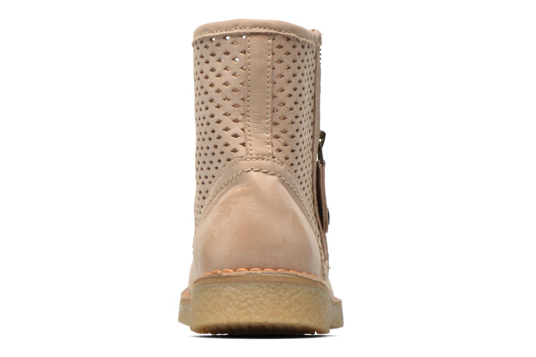 Bottines et boots Geox D Wilder D52L3B Beige vue droite