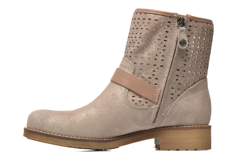 Stiefeletten & Boots Geox D New Virna D5251G beige ansicht von vorne