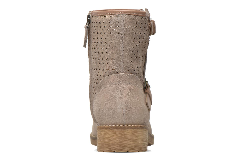 Stiefeletten & Boots Geox D New Virna D5251G beige ansicht von rechts