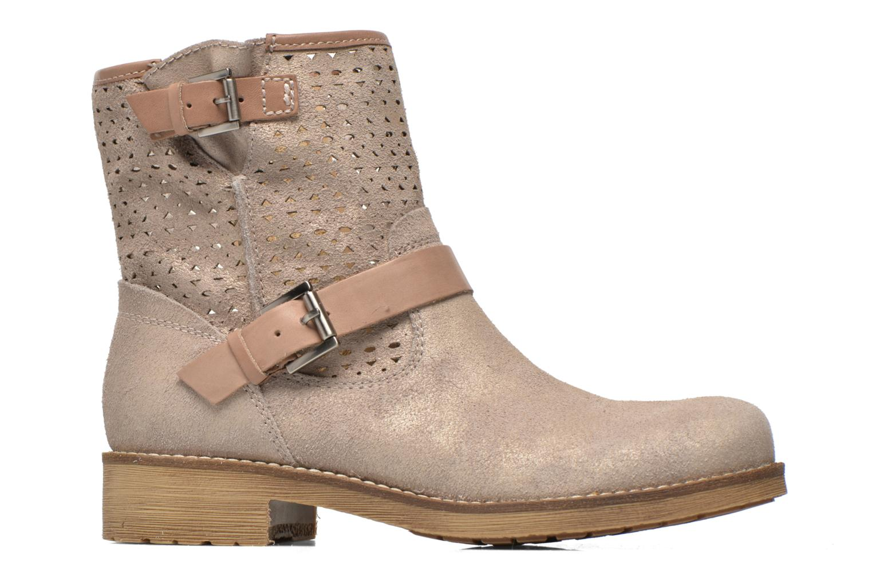 Stiefeletten & Boots Geox D New Virna D5251G beige ansicht von hinten