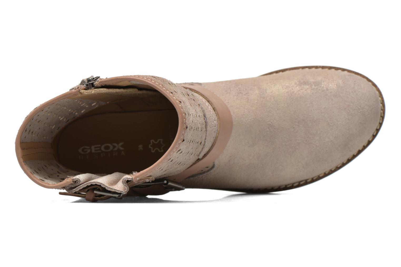Stiefeletten & Boots Geox D New Virna D5251G beige ansicht von links