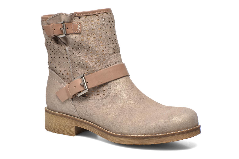 Bottines et boots Geox D New Virna D5251G Beige vue détail/paire