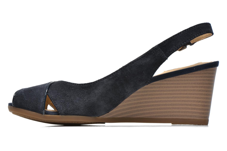 Sandales et nu-pieds Geox D Consuelo D5282B Bleu vue face