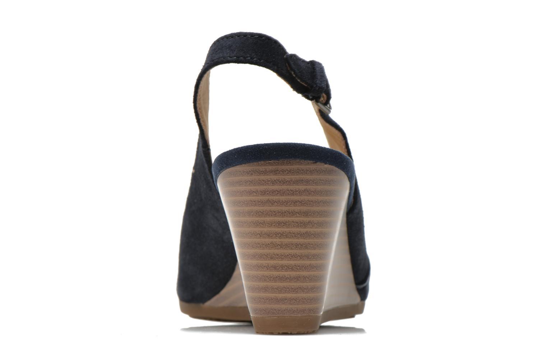 Sandales et nu-pieds Geox D Consuelo D5282B Bleu vue droite
