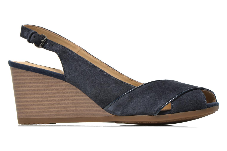 Sandales et nu-pieds Geox D Consuelo D5282B Bleu vue derrière