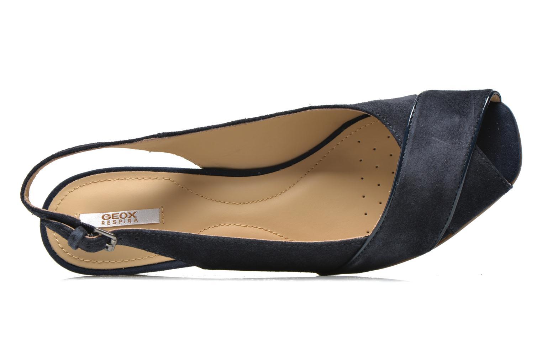 Sandales et nu-pieds Geox D Consuelo D5282B Bleu vue gauche
