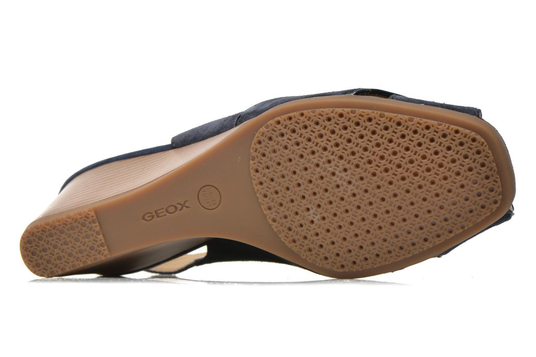 Sandales et nu-pieds Geox D Consuelo D5282B Bleu vue haut