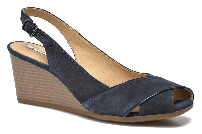 Sandales et nu-pieds Geox D Consuelo D5282B Bleu vue détail/paire