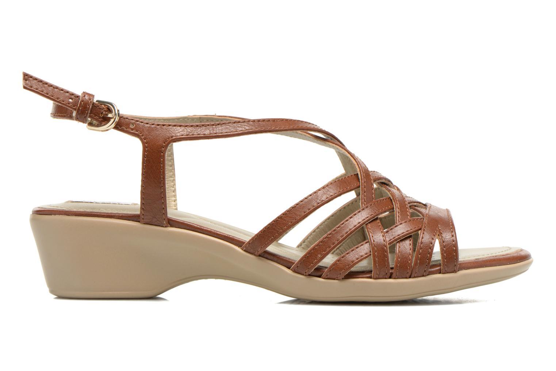 Sandali e scarpe aperte Geox D New Coral D52S3A Marrone immagine posteriore