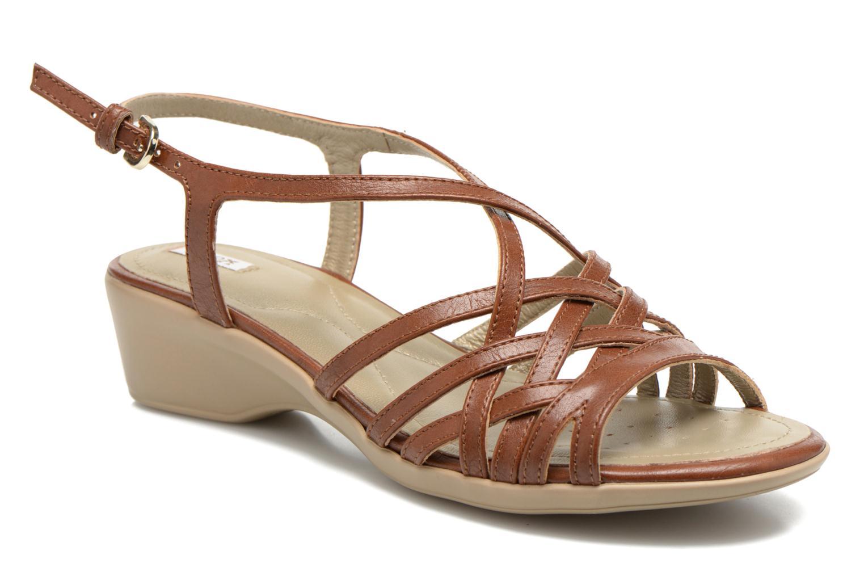 Sandali e scarpe aperte Geox D New Coral D52S3A Marrone vedi dettaglio/paio