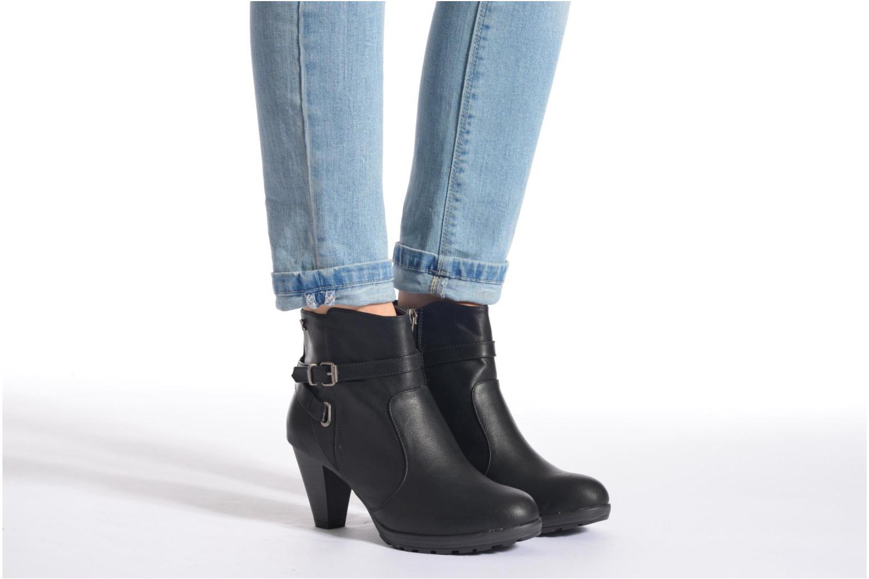 Stiefeletten & Boots Refresh Lisa-61174 beige ansicht von unten / tasche getragen