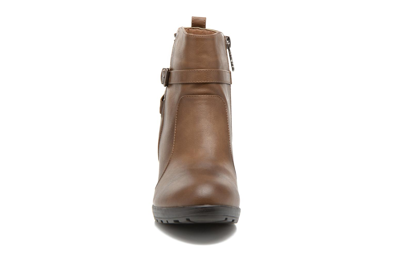 Bottines et boots Refresh Lisa-61174 Beige vue portées chaussures
