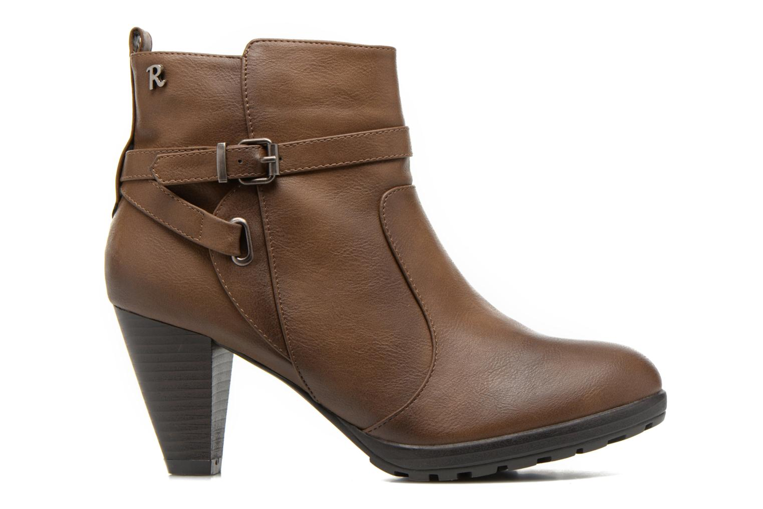 Ankle boots Refresh Lisa-61174 Beige back view