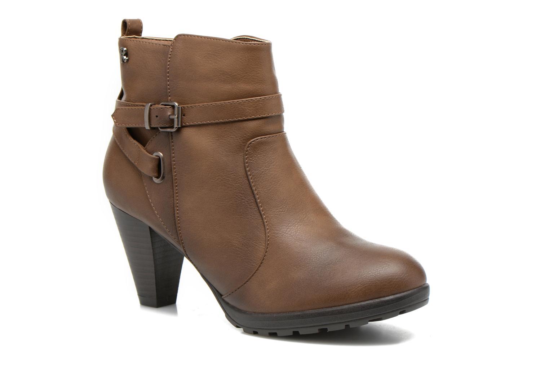 Bottines et boots Refresh Lisa-61174 Beige vue détail/paire