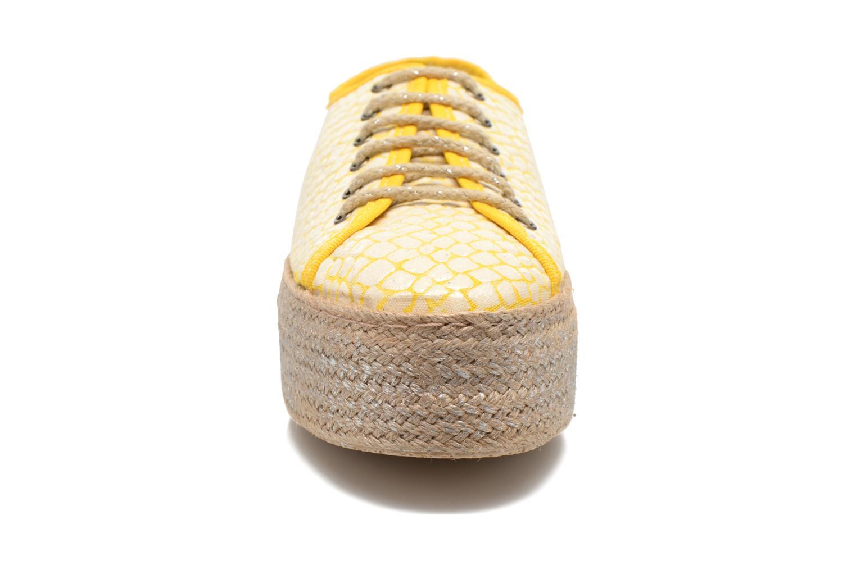 Schnürschuhe Ippon Vintage Snake Sun gelb schuhe getragen