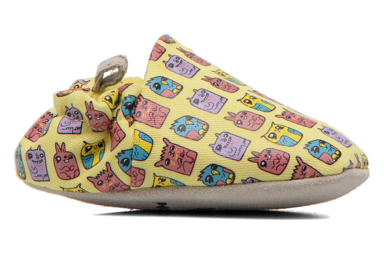Pantofole Poco Nido ANIMAL CUBES Giallo immagine posteriore