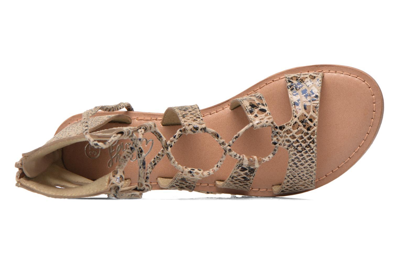 Sandaler I Love Shoes SUGLIHIGH CUIR Beige bild från vänster sidan