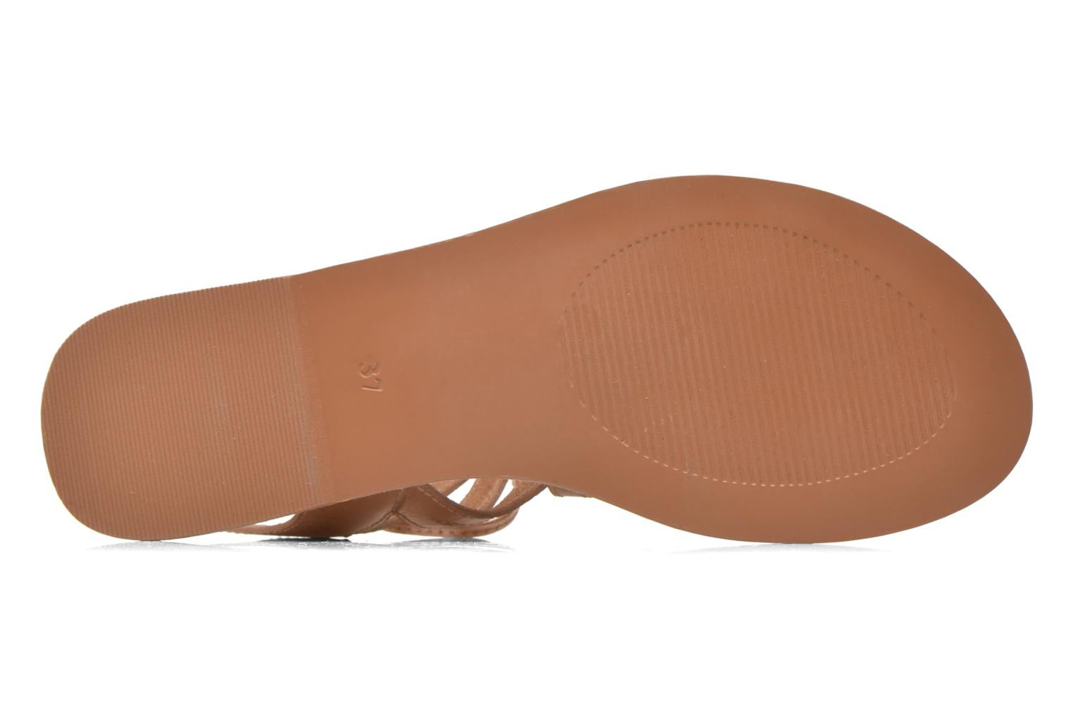 Sandals I Love Shoes SUGLIHIGH CUIR Beige view from above
