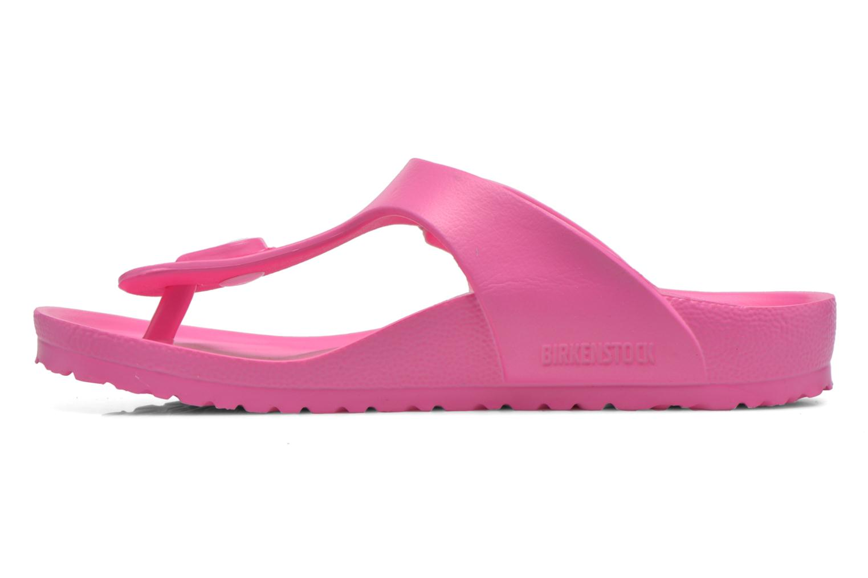 Sandales et nu-pieds Birkenstock Gizeh EVA Rose vue face