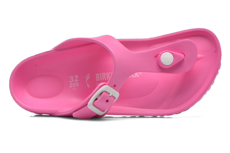 Sandales et nu-pieds Birkenstock Gizeh EVA Rose vue gauche