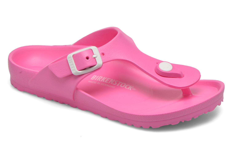 Sandales et nu-pieds Birkenstock Gizeh EVA Rose vue détail/paire