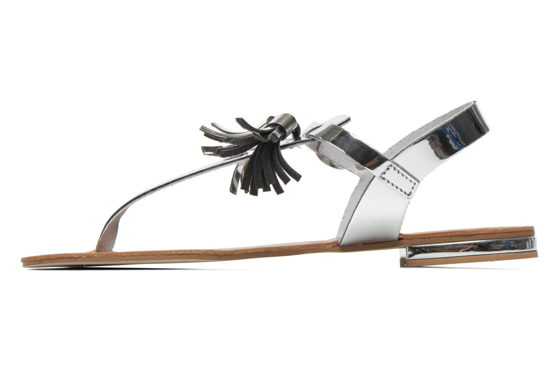 Sandales et nu-pieds Georgia Rose Dormine Argent vue face