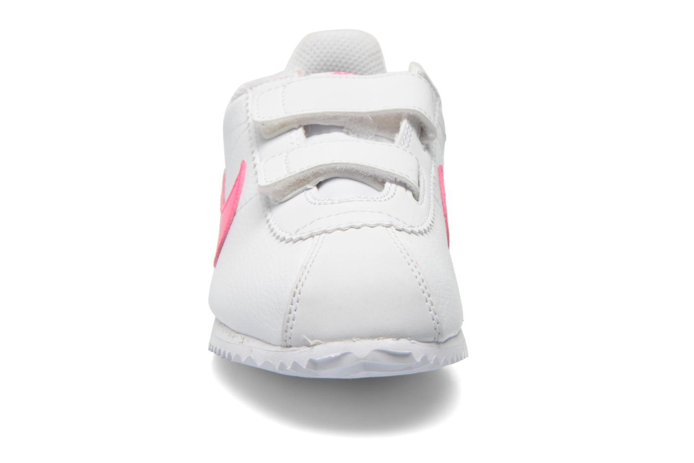 Baskets Nike Nike Cortez (Psv) Blanc vue portées chaussures