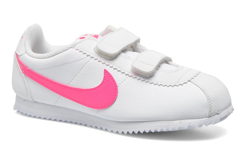 Baskets Nike Nike Cortez (Psv) Blanc vue détail/paire