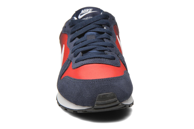 Sneaker Nike Nike Internationalist (Gs) blau schuhe getragen
