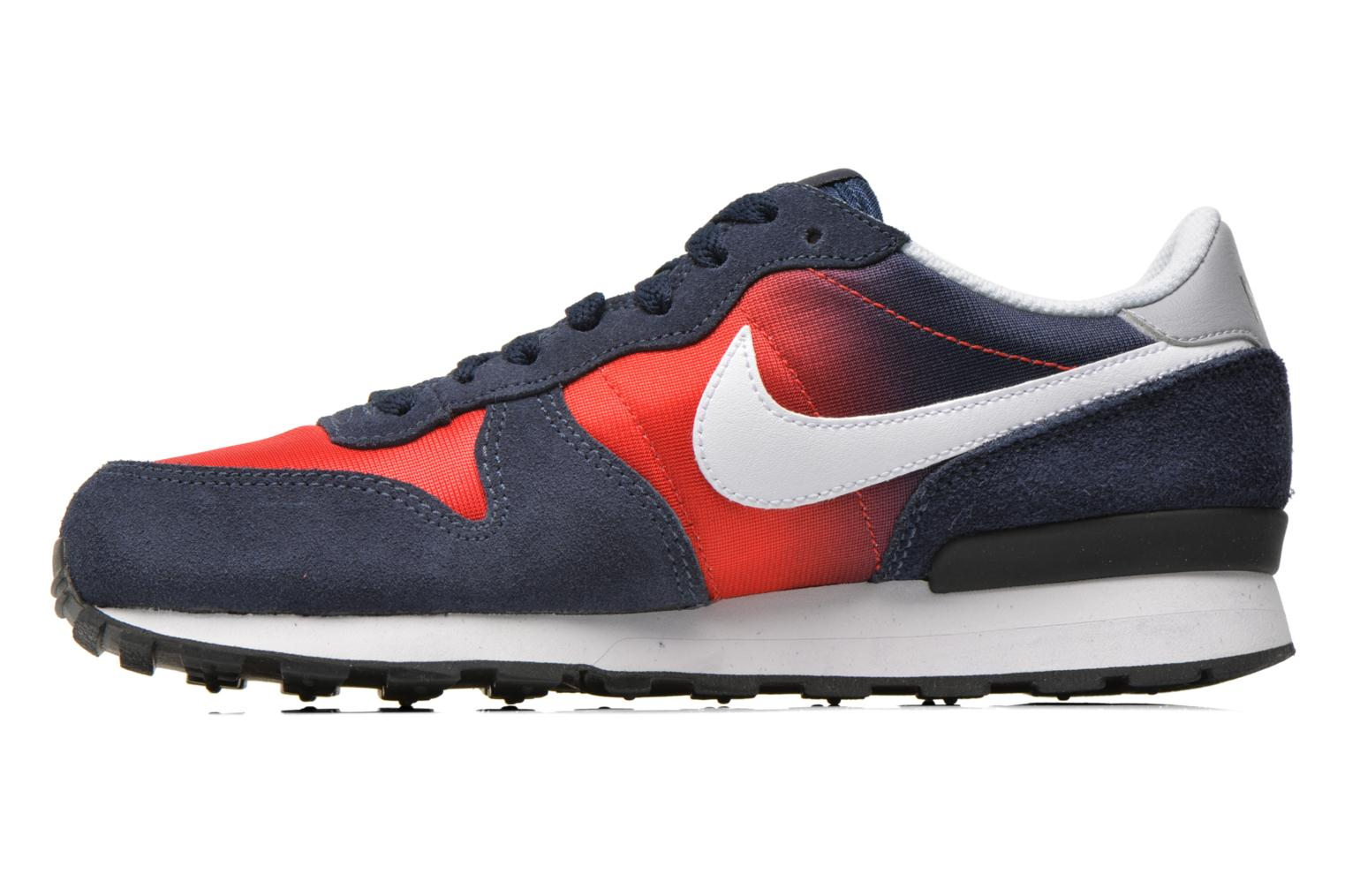 Nike Internationalist (Gs) Obsidian White-University Red