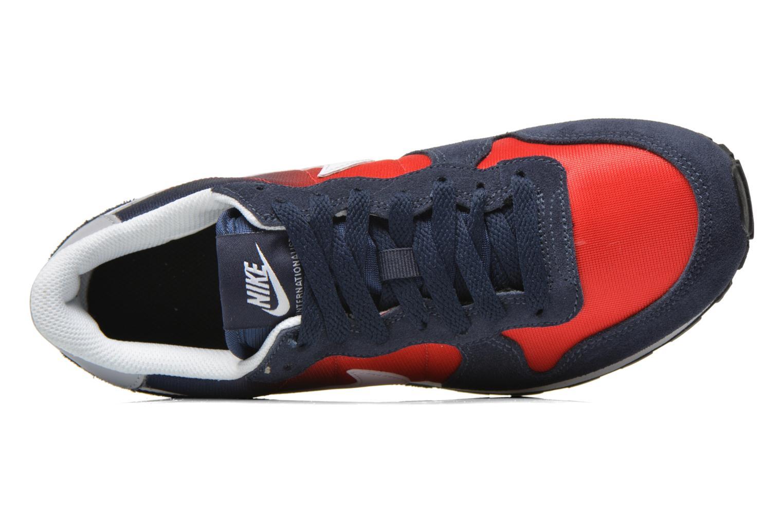 Sneaker Nike Nike Internationalist (Gs) blau ansicht von links