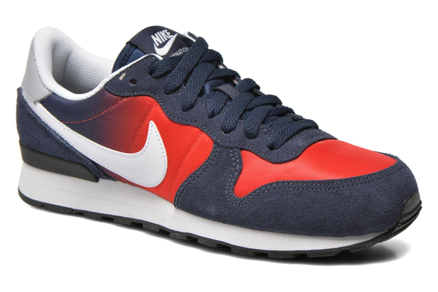 Trainers Nike Nike Internationalist (Gs) Blue detailed view/ Pair view