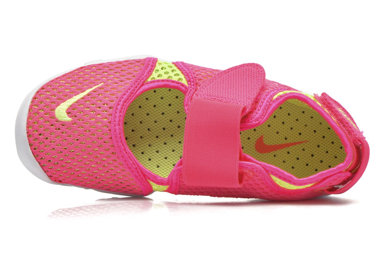 Deportivas Nike Rift Br (GsPs Girls) Rosa vista lateral izquierda