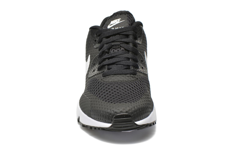 Baskets Nike Nike Air Max 90 Br (Gs) Noir vue portées chaussures