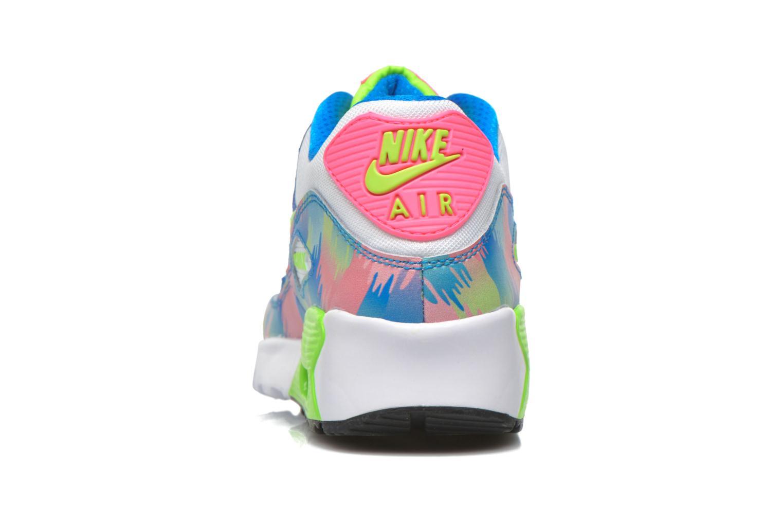Sneaker Nike Nike Air Max 90 Print Mesh Gs mehrfarbig ansicht von rechts
