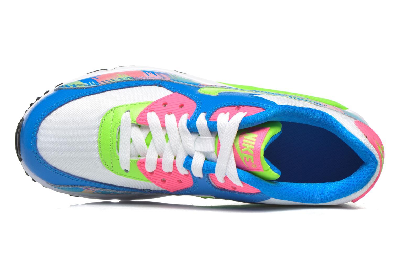 Sneaker Nike Nike Air Max 90 Print Mesh Gs mehrfarbig ansicht von links